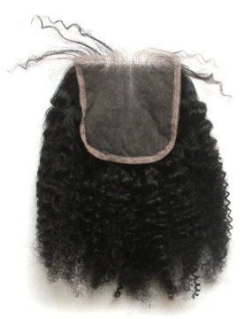 Brazilian Afro kinky closure
