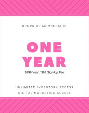 Yearly Dropship Membership