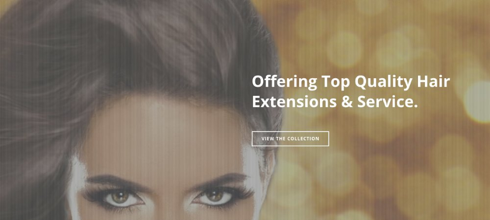 Hair Extension Website Products