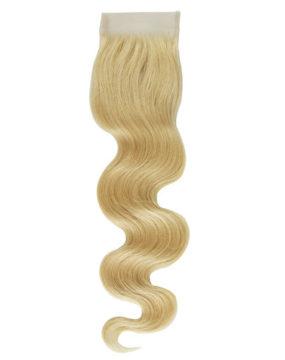 russian blonde closure