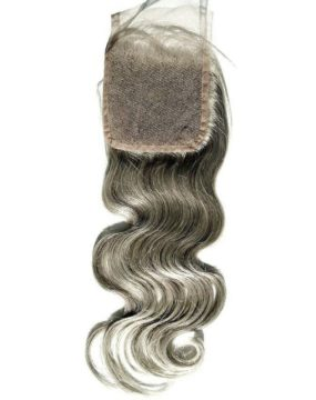Brazilian Gray Body Wave Closure Back