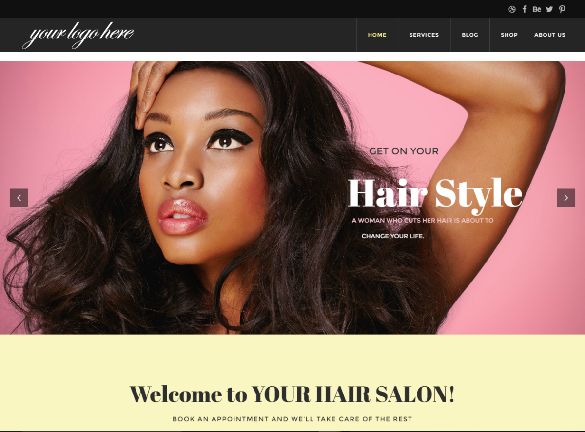 Hair extension website your hair brand dropshipping e commerce salon hair extension website urmus Images