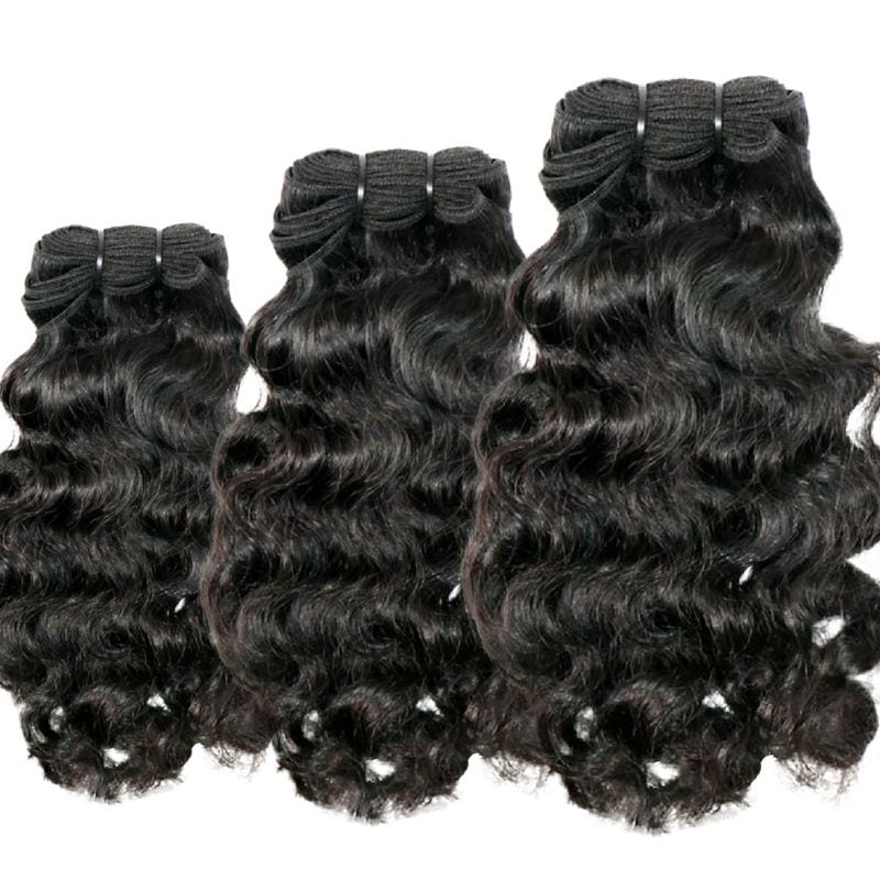 Curly Indian Hair Bundle Deal - Dropship Bundles- Raw Sew-In