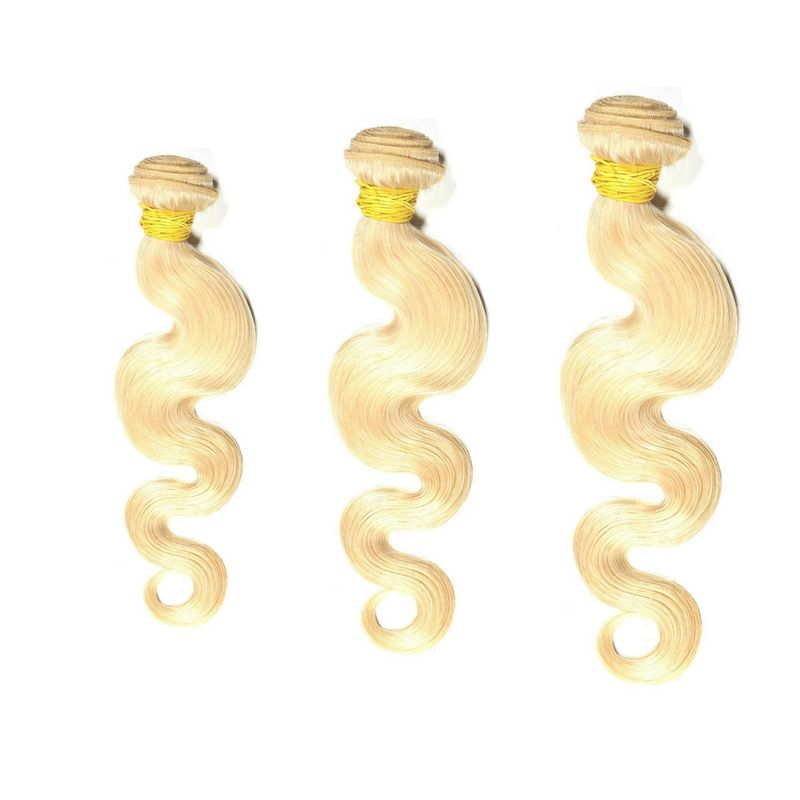 Brazilian Russian Blonde Body Wave Bundle Deal