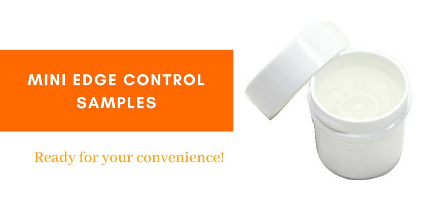 MINI EDGE CONTROL SAMPLES