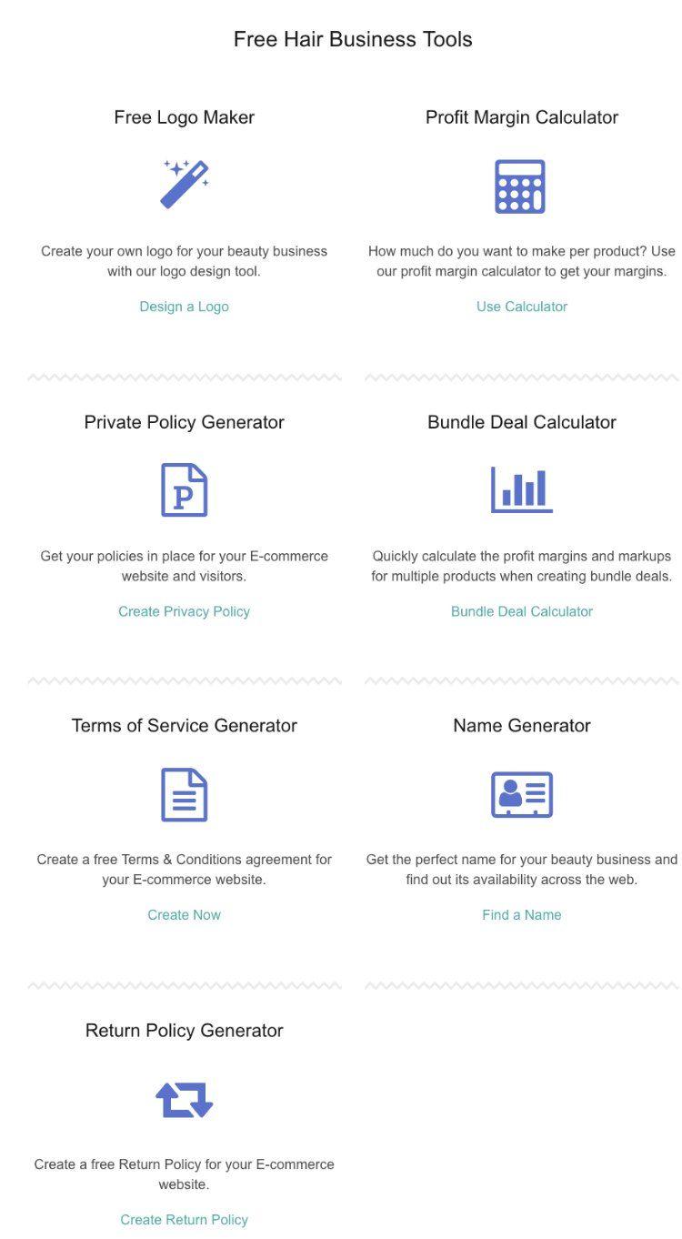 tools menu