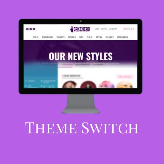 Website Theme Switch