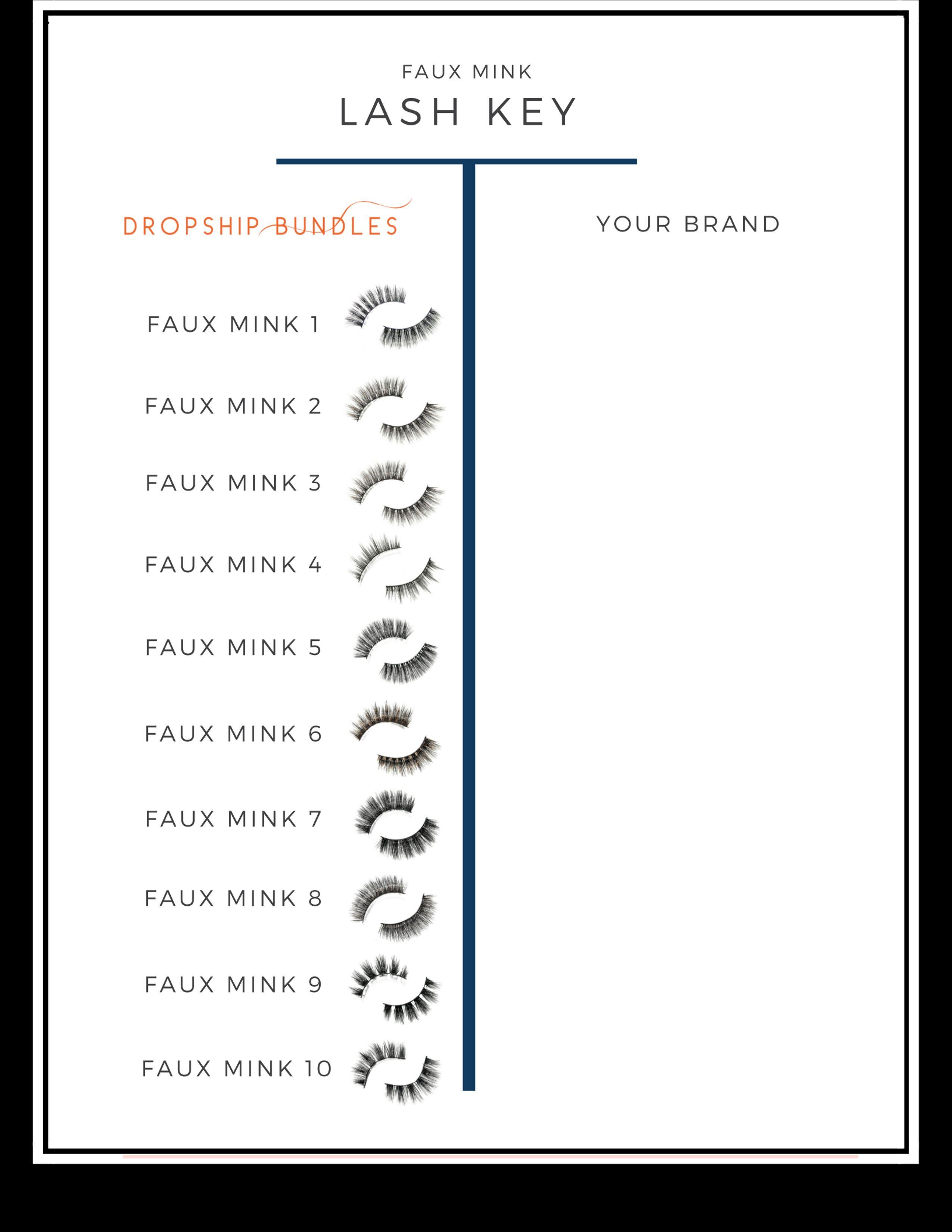 Faux Mink Your Lash Key Low