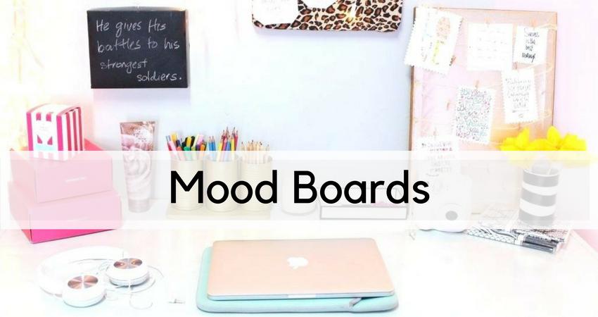 mood board header