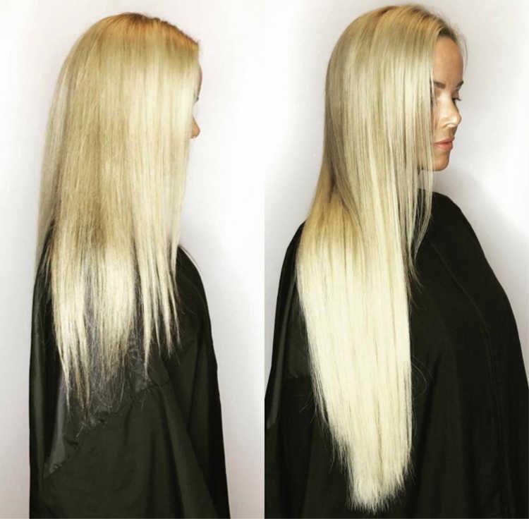 Fusion Hair Final Look