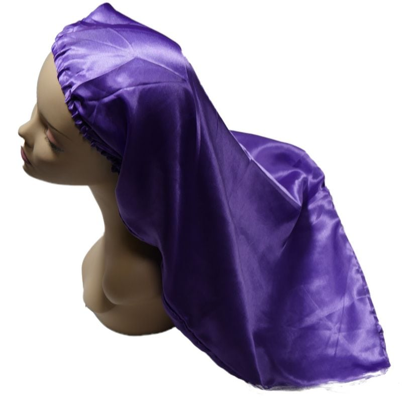 Long Purple Bonnet