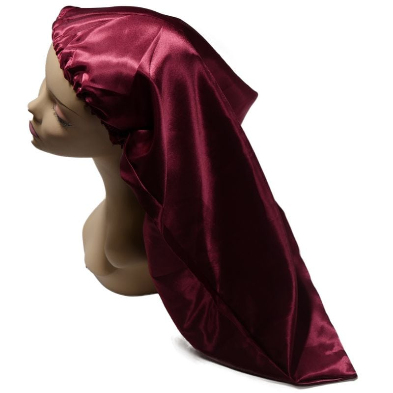 Long Ruby Red Bonnet