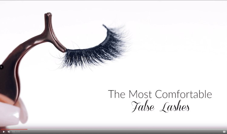 lash product video Grace thickband