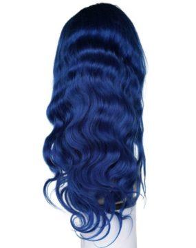 Sapphire Blue Wig