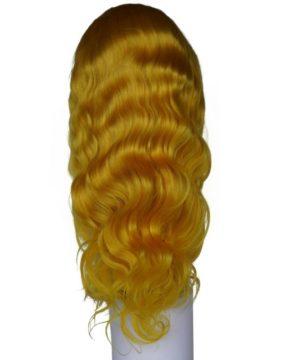 Vibrant Yellow Wig