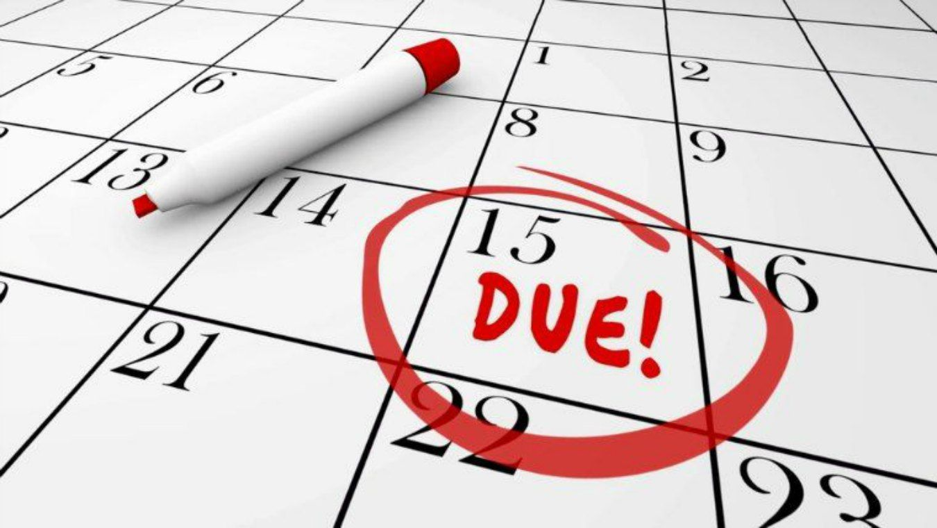 deadline due date