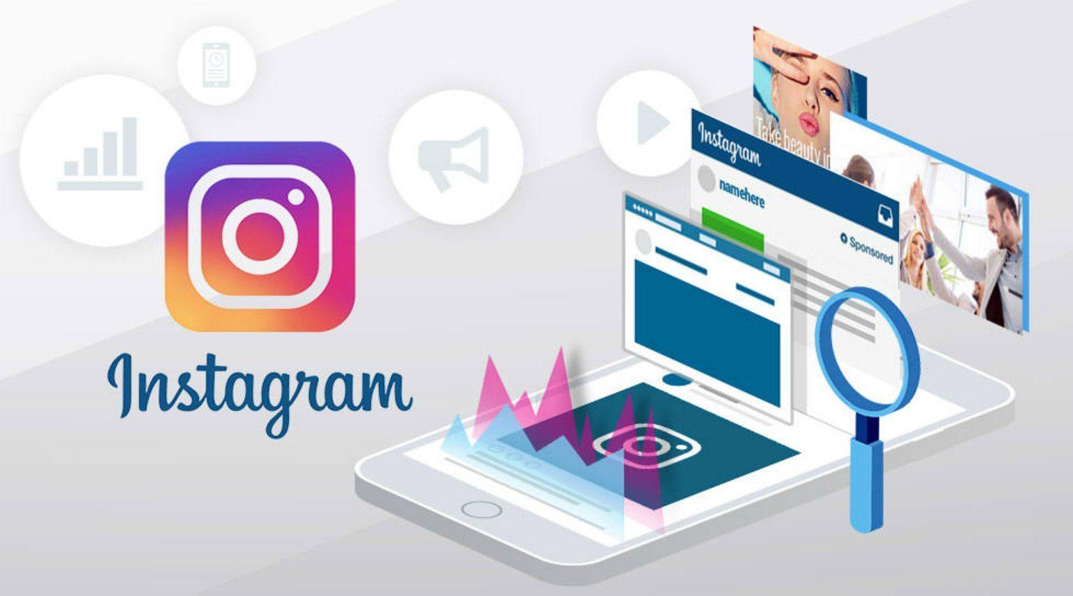 Instagram-advertising header
