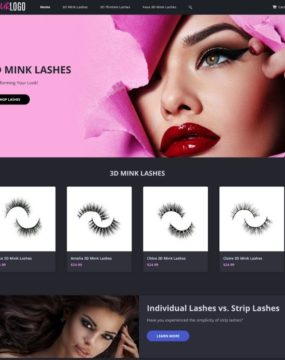 3D Lash Website