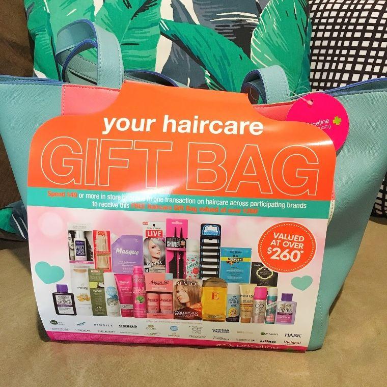 hair brand gift bag